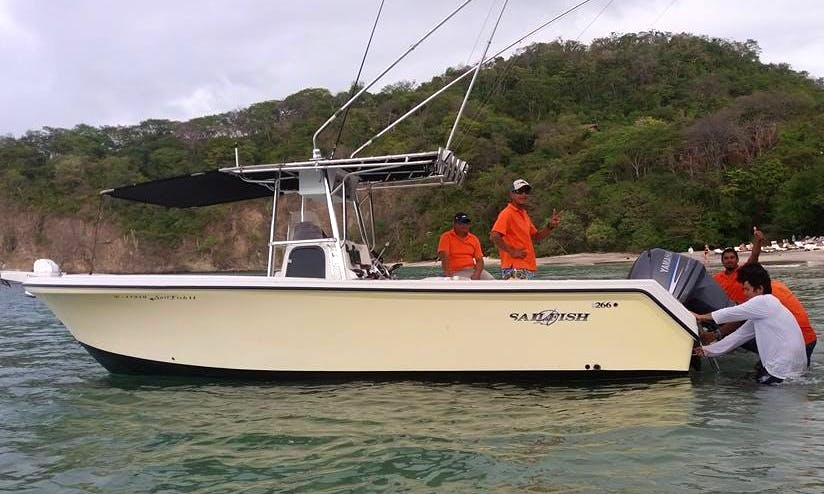 Liberia Fishing Charter Aboard 4 People Sailfish Center Console