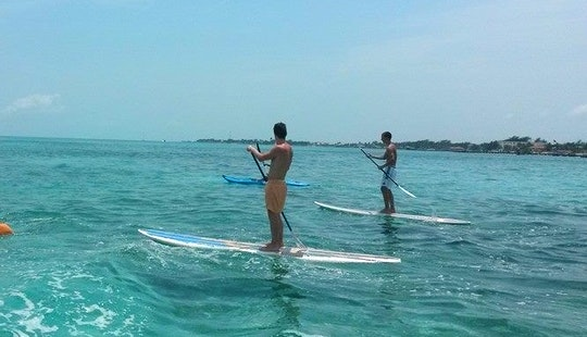 Rent A Stand Up Paddle In San Pedro, Belize