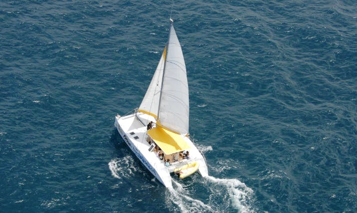 Go Sailing on a Cruising Catamaran in Le Robert, Martinique