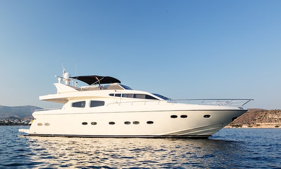Charter 70' Posillipo Rizzardi Power Mega Yacht In Greece