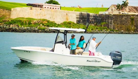 Enjoy Fishing In San Juan, Puerto Rico On Nautic Star Center Console