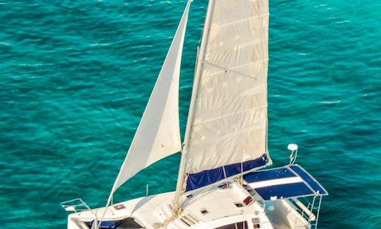 Pachanga 40ft Cruising Catamaran Rental In Cancún