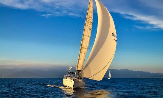 Charter 49' Jeanneau Sun Odyssey Cruising Monohull In Panamá City, Panama