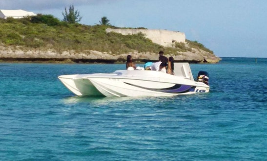 Cnarter A Power Catamaran In Cockburn Town, Turks And Caicos Islands