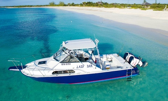 Enjoy A Memorable Fishing Charter In Leeward Settlement, Turks And Caicos Islands On Cuddy Cabin