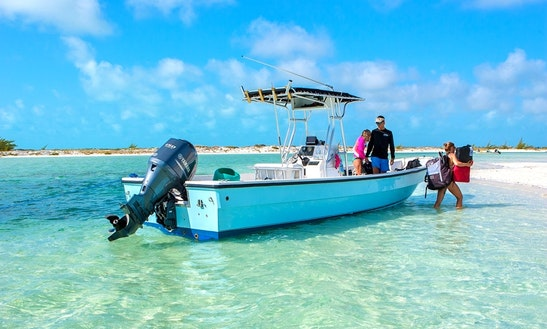 Charter 26' Simple Men Center Console In Caicos Islands, Turks And Caicos Islands