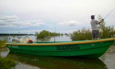 Enjoy Fishing in Concordia, Argentina on Jon Boat