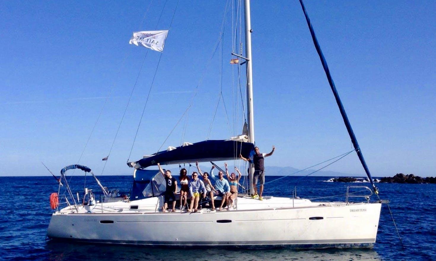 "Charter Beneteau Oceanis 43 ""Dream Team"" Sailboat in Spain"