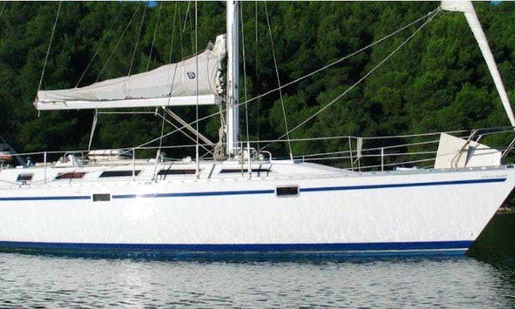 "Charter ""Blitz""  Dufour Gibsea 442 Cruising Monohull in Tenerife, Spain"