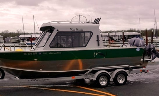 22' Hewes Craft Fishing Charter In Saint Helens