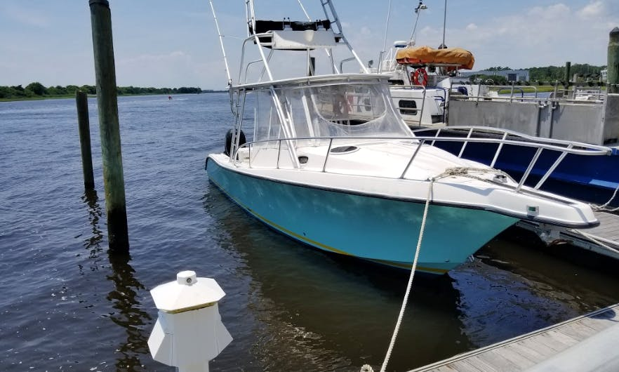 Fishing Charter On 37' Mako Center Console In Southport, North Carolina