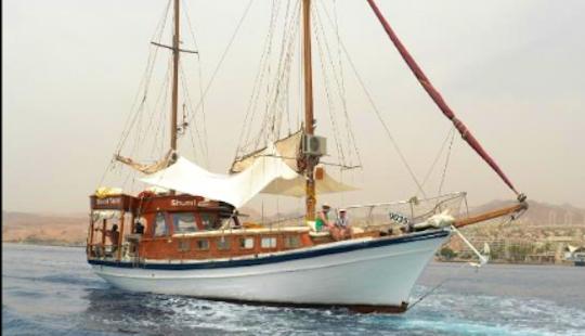 Charter A 35 Passengers Gulet In Eilat, Israel