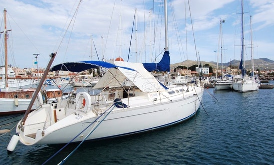 Atlantic 49 Sailing Charter For 12 Person In Paros Island, Greece