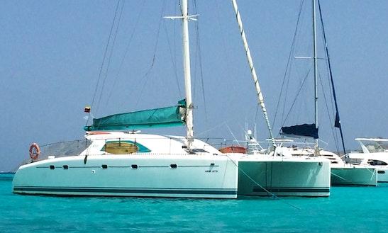 Charter 47' Aguamarina Cruising Catamaran In Gran Roque, Venezuela