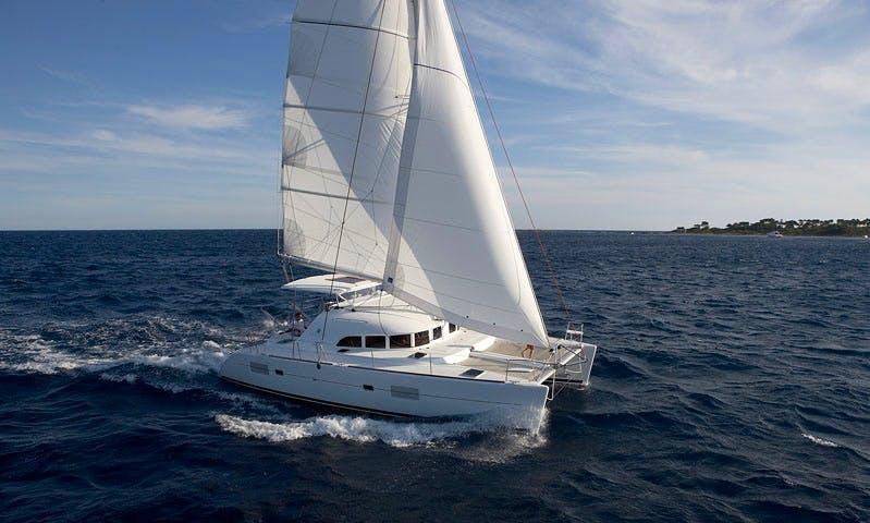 38ft 'Giulia II' Lagoon Cruising Catamaran Rental In Tropea, Italy