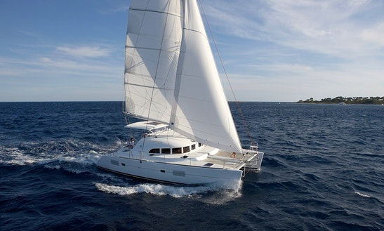 38ft 'giulia Ii' Lagoon Cruising Catamaran Rental In Tropea, Italy