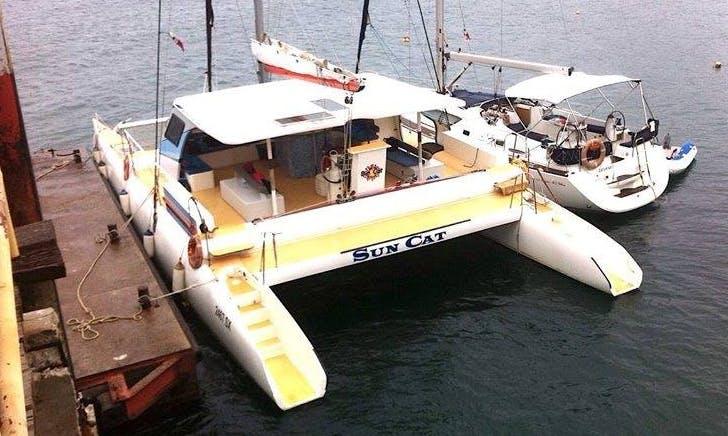 Charter a 35 Person Sun Cat Cruising Catamaran in Panama City, Panama