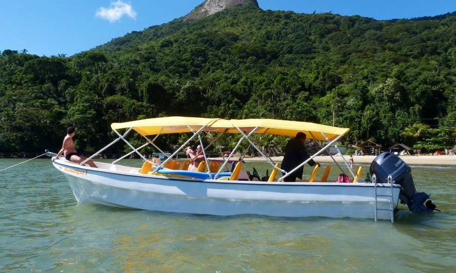 Charter this watercraft in Paraty, Brazil