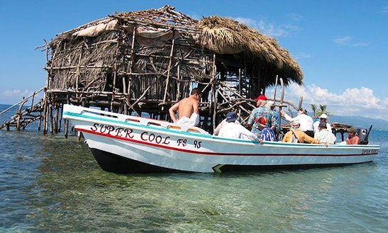 Rent A Super Cool Boat For 15 People At Treasure Beach, Jamaica