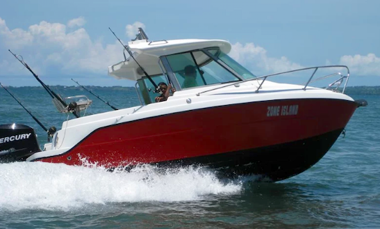 Enjoy A 4 Person Cuddy Cabin Fishing Charter In Nadi, Fiji