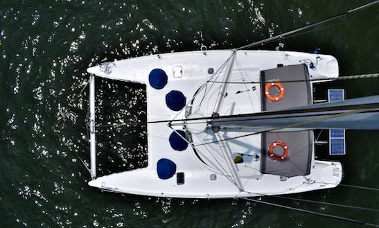 Charter A Beautiful Cruising Catamaran For Up To 20 Friends In Cartagena, Colombia
