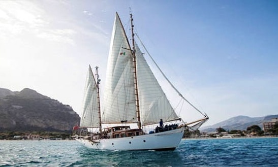 Charter A Schooner In Palermo, Italy For 6 Person