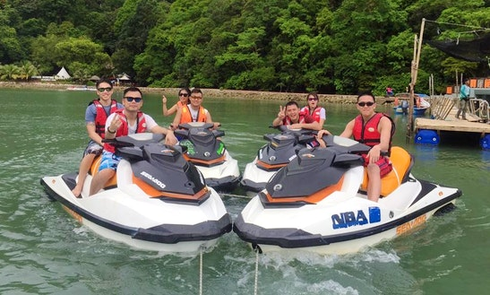 Experience The Thrill Of Riding A Jet Ski In Langkawi, Malaysia