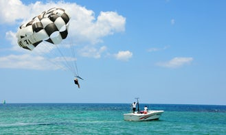 Enjoy Parasailing in Montego Bay, Jamaica