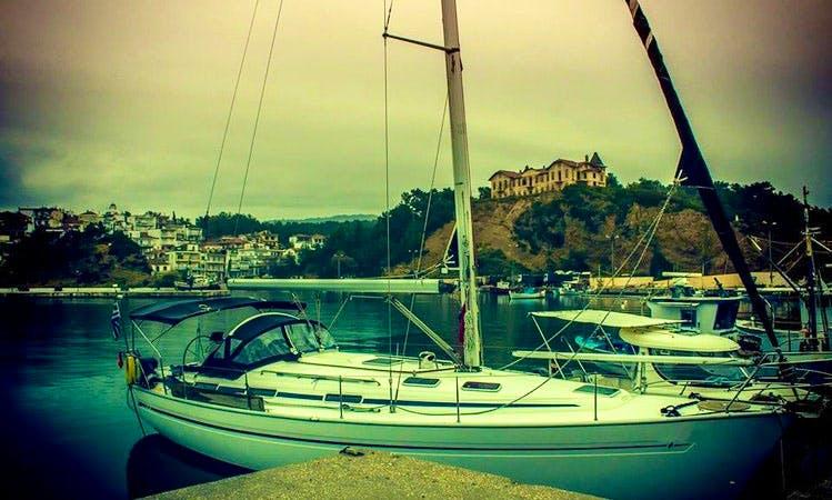 "Sailing Charter On 41ft ""Amalia"" Bavaria Cruising Monohull In Kavala, Greece"