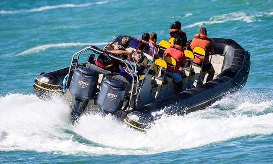 Charter A Rigid Inflatable Boat In Mossel Bay, South Africa