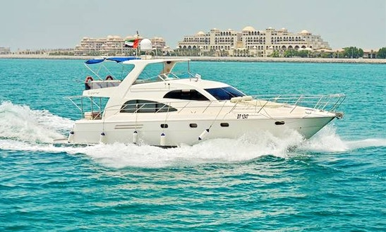 55ft Yacht Dubai Cruise