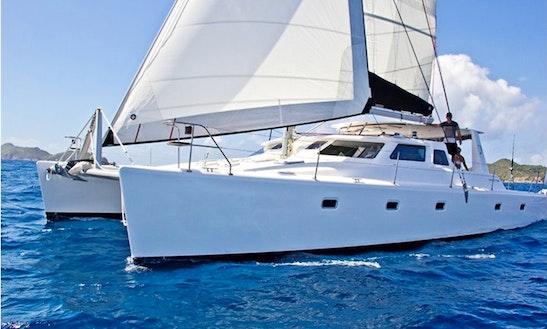 Luxury Cruising Catamaran 'merlyn' Charter In Tortola