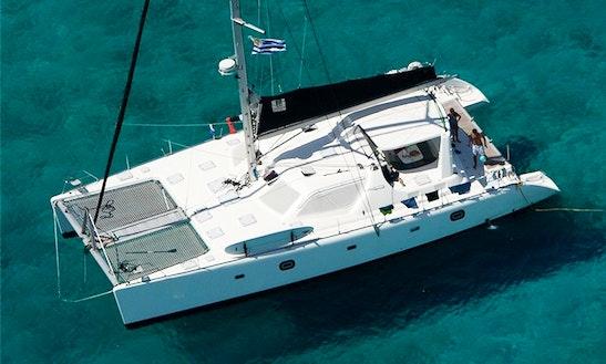 Cruising Catamaran Luxurious 'top Secret' Charter In Tortola