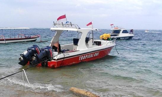 Enjoy Fishing In Kuta, Indonesia On Center Console