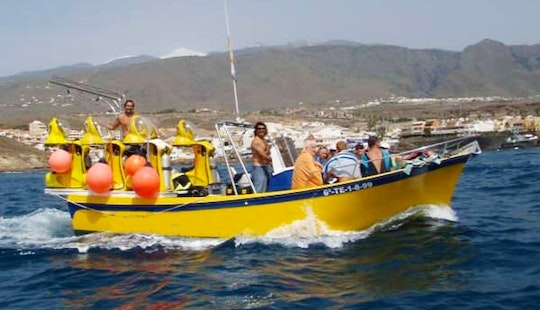 Underwater Scooter Excursion Boat In Spain