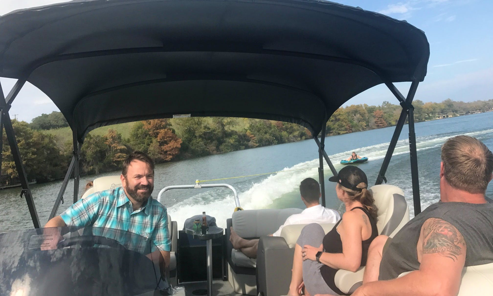 2017 24ft Misty Harbor 200 Hp Tritoon!  Lake Travis, Lake Austin, Canyon Lake are all included