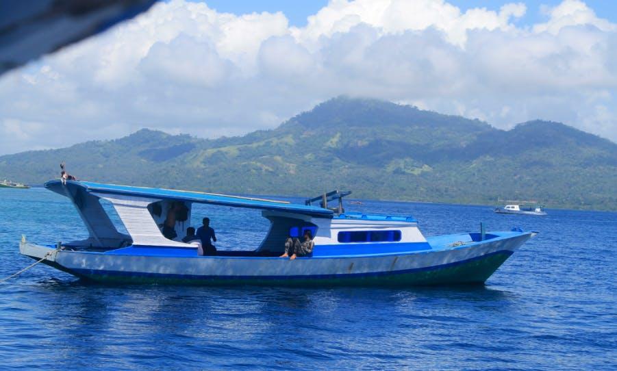Snorkeling in Siladen Island