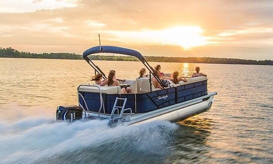 Captained Pontoon Boat Cruises In Winter Haven, Florida