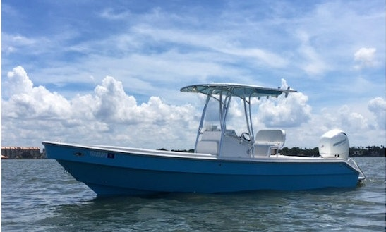 Enjoy Fishing In Coiba Island And Hannibal Banks, Panama On Caribe Pro Center Console