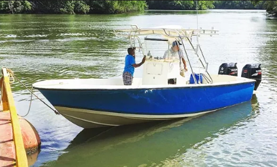 Enjoy Fishing In Coiba Island And Hannibal Banks, Panama On Center Console