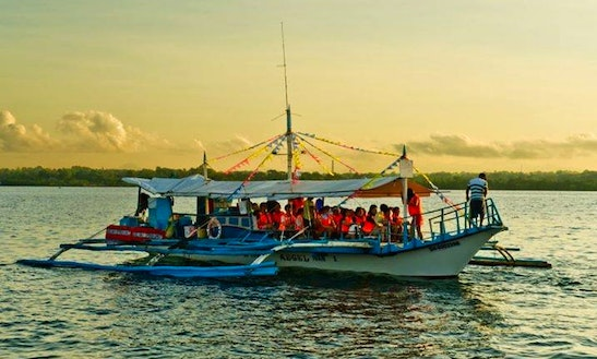 Room For 18 On This Island Hopping Boat Tour In Puerto Princesa, Philippines