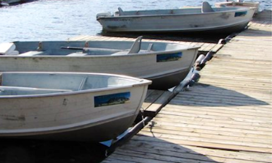 Rent 14' Aluminum Motor Boat On Kennebec Lake, Arden, Ontario