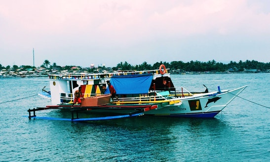 Charter Agys Traditional Boat In Nasugbu, Philippines