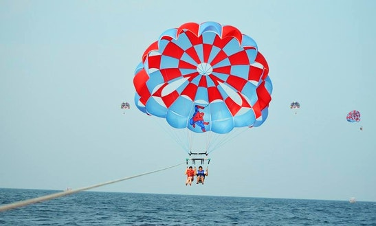 Parasailing - It's A Thrill Of A Lifetime!
