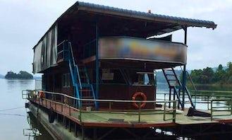 Charter Ratu 1 Houseboat in Kuala Berang, Malaysia