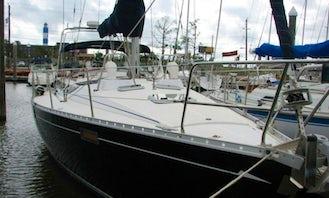 "Charter 39ft ""Seazure"" Beneteau Sailboat In Kemah, Texas"