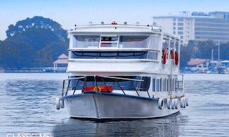 """Exclusive """"Classic Paradise"""" Premium Vessel for 50 Passengers in Kochi"""