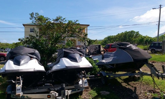 Rent A Jet Ski In Charlestown, Saint Kitts And Nevis