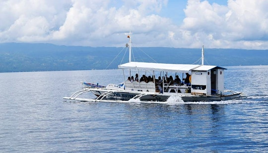 Charter A 20 Person Pontoon In Bais City, Philippines