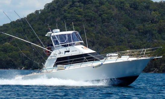 Enjoy Fishing From Watsons Bay, Sydney, New South Wales On 38' Sport Fisherman